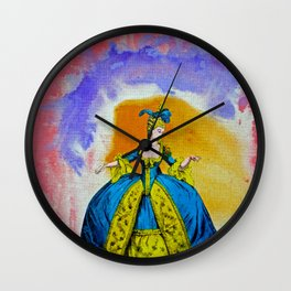Marie Antoinette by Michael Moffa Wall Clock