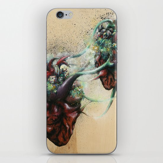 Arrested Vascular Fusion of Two Entities in Need  iPhone & iPod Skin
