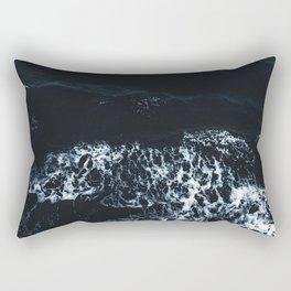 Crash Me With Silence Rectangular Pillow
