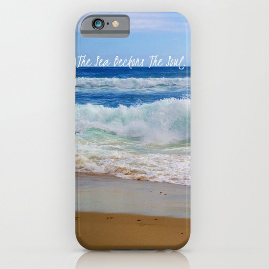 The Sea Beckons The Soul iPhone & iPod Case