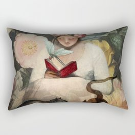 The Reading Rectangular Pillow