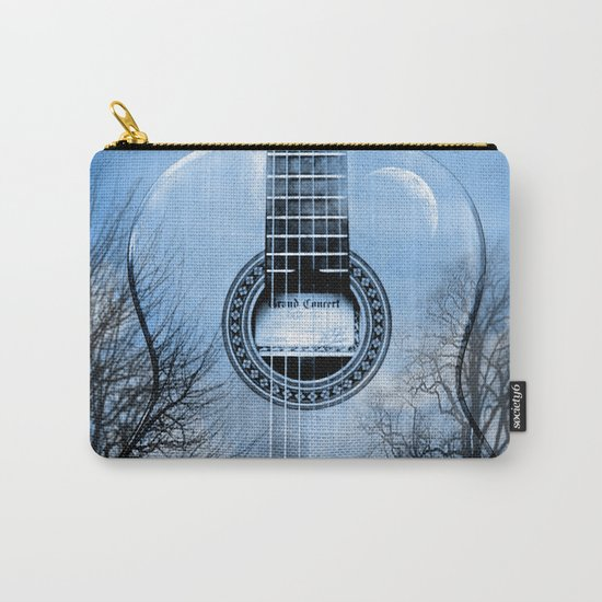 music blue  Carry-All Pouch