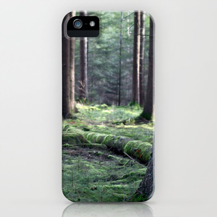 Between the trees iPhone Case