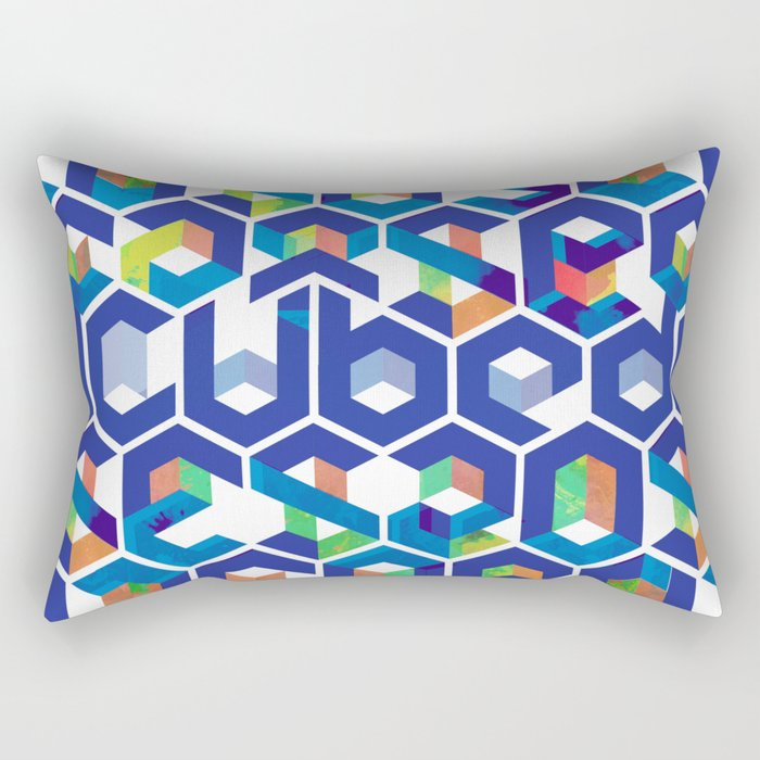 Cubed Balance Rectangular Pillow