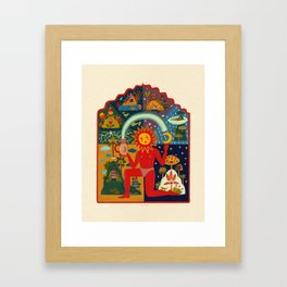 Sun Framed Art Print