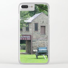 19th Century Scene at Harper's Ferry West Virginia Clear iPhone Case