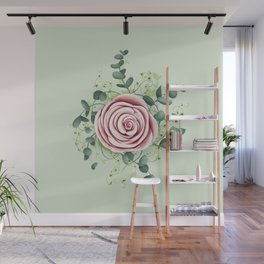Rose entangled Wall Mural