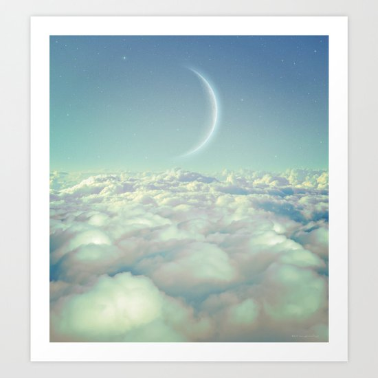 Dream Above The Clouds Art Print