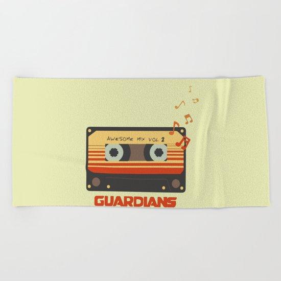 Music, Guardians of the Galaxy, Movie Beach Towel