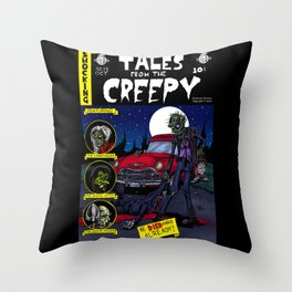 Tales From The Creepy Throw Pillow
