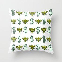 Muny Huny Throw Pillow