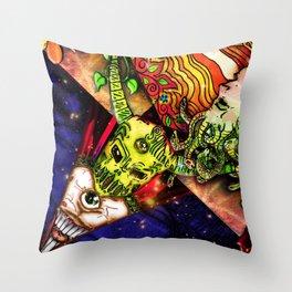 Intergalactic Guardian Constantin Throw Pillow