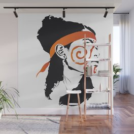 Native America Wall Mural