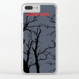The Silence of the Lambs Clear iPhone Case
