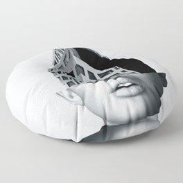 portrait (architecture) Floor Pillow
