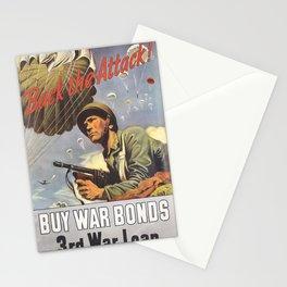 Vintage poster - War Bonds Stationery Cards