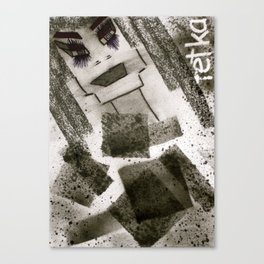Miss Absolute tetkaART Canvas Print