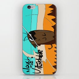 Bfu! Bfu! Bfuy-bu-bu-bu! iPhone Skin