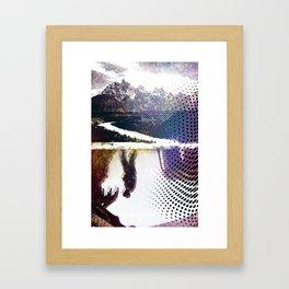 I Left My Fork at Home Framed Art Print