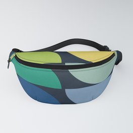 Abstract Flower Palettes Fanny Pack