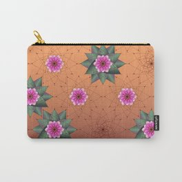 Blooming Desert Carry-All Pouch