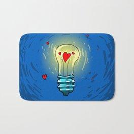 Lamp of love Bath Mat