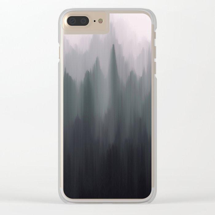 Morning Fog II Clear iPhone Case