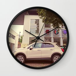 "Fiat 500X ""The Perturbator"" Wall Clock"