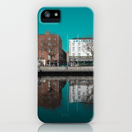 Dublin reflections  iPhone Case