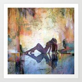 Sunrise Chillout Art Print