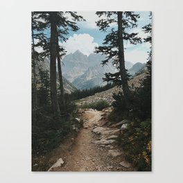 Grand Teton Way Canvas Print
