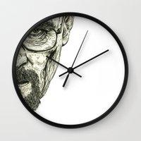 breaking Wall Clocks featuring Breaking Bad by Adam McDade
