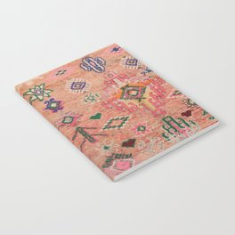 Moroccan Berber Traditional Carpet Notebook