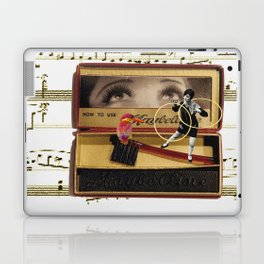 Charleston Hooper with the Gorgeous Eyes (and a kingfisher) Laptop & iPad Skin