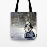 indigo Tote Bags featuring Indigo by Terrel