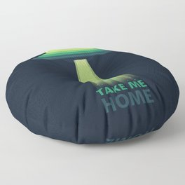 Take Me Home Floor Pillow
