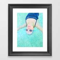 Carefree Summer Framed Art Print