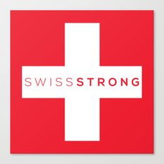 Swiss Strong Canvas Print