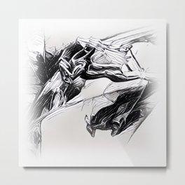 White Volga Metal Print