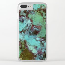 Organic decay Clear iPhone Case
