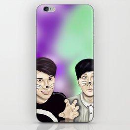 Dan and Phil iPhone Skin