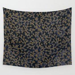 ORGANIC PATTERN DARK Wall Tapestry