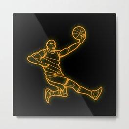 Basketballer Metal Print