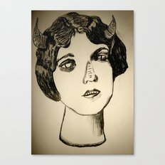 1922 Lila Lee portrait Canvas Print
