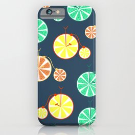 Fruity bikes iPhone Case
