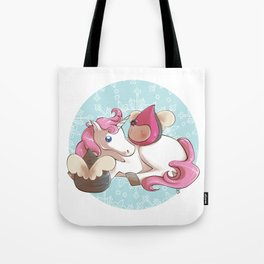 Poppettes with unicorn Tote Bag