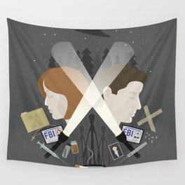 The Light in Dark Places Wall Tapestry