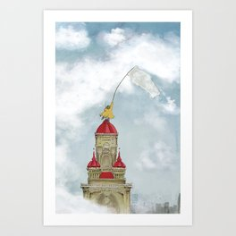 The Cloud Catcher Art Print