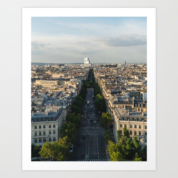 Arc de Triomphe IV Art Print