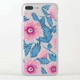 Gerbera Bloom Clear iPhone Case